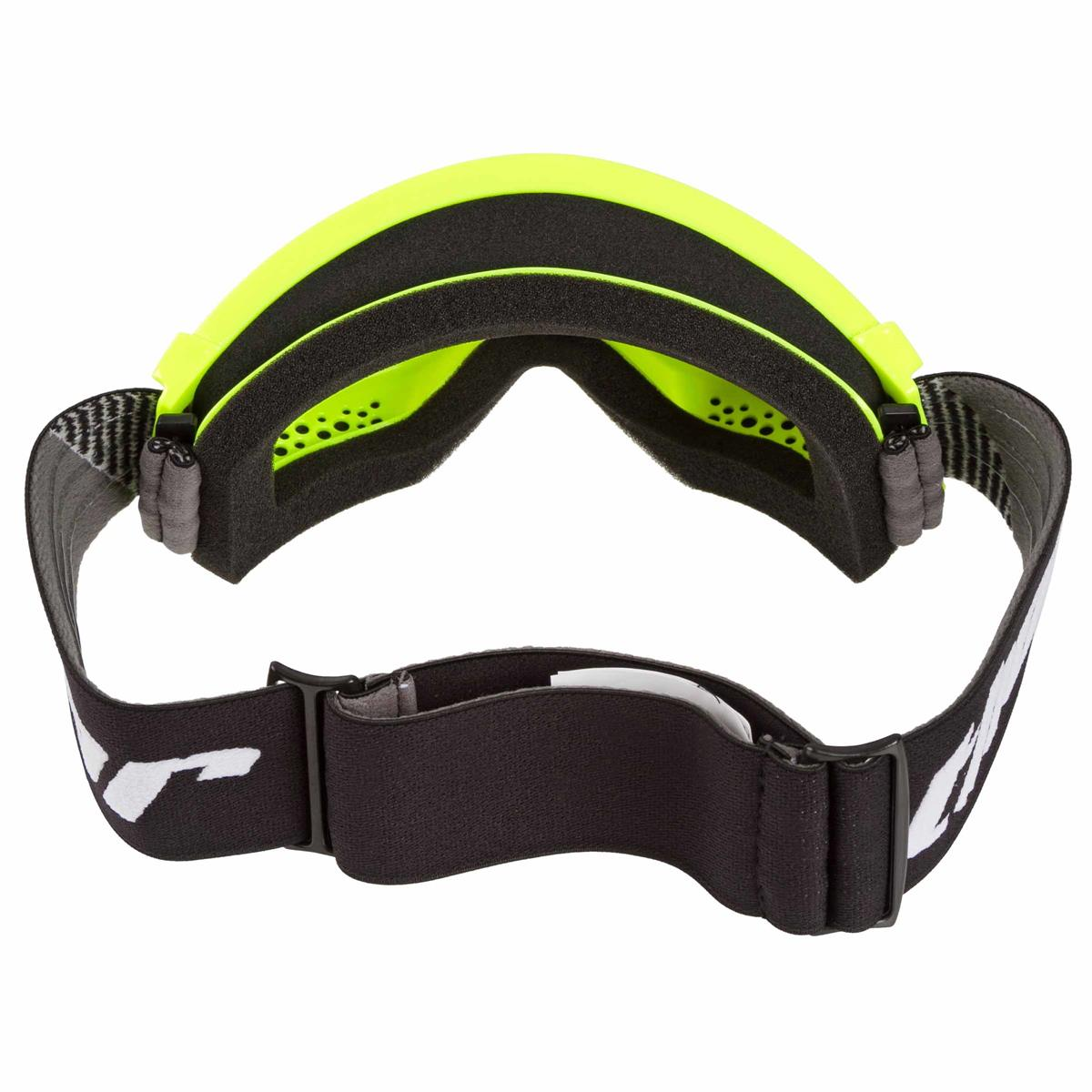 Thor Combat Sand MX//Offroad Goggles Flo Green//Black