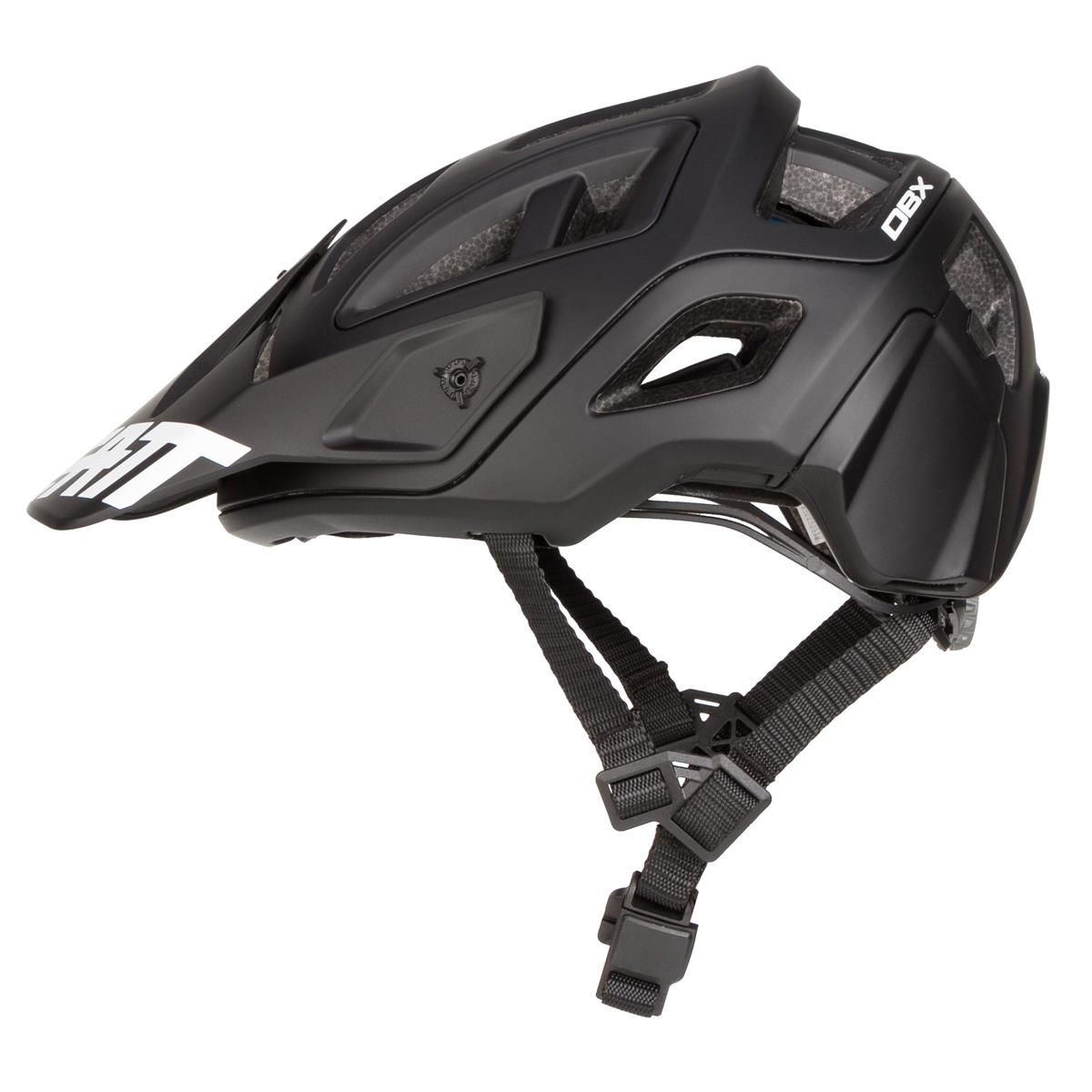 leatt enduro mtb helm dbx 3 0 enduro schwarz wei 2019. Black Bedroom Furniture Sets. Home Design Ideas