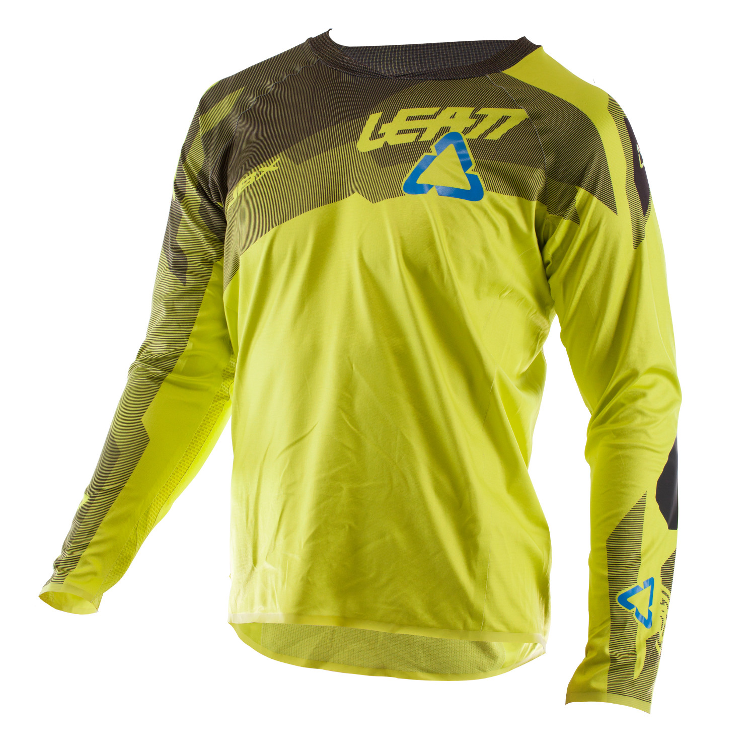 Leatt Downhill Jersey DBX 5.0 All Mountain Lime 2018  d373093bd