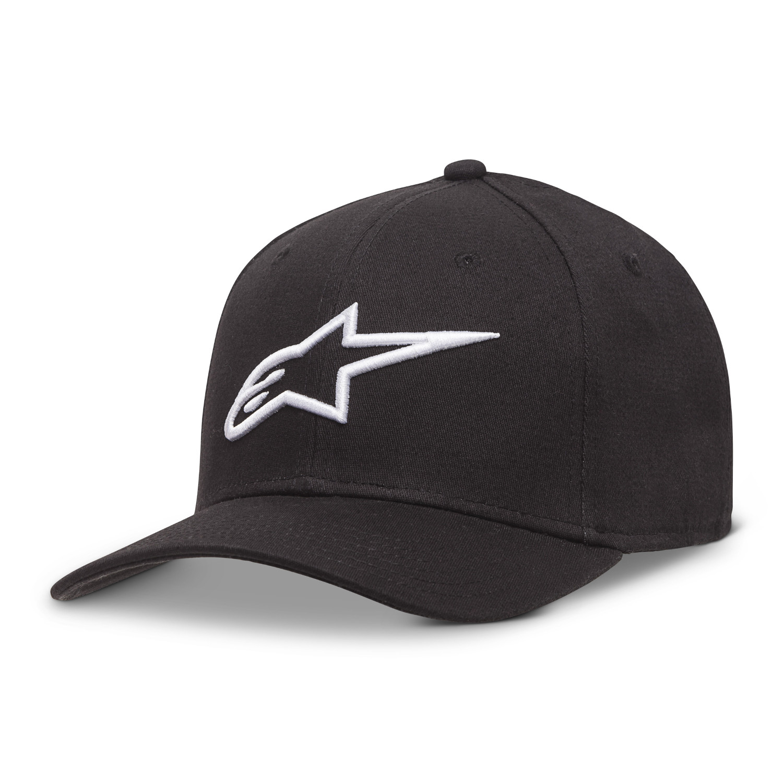 Alpinestars Cap Ageless Curve Schwarz/Weiß