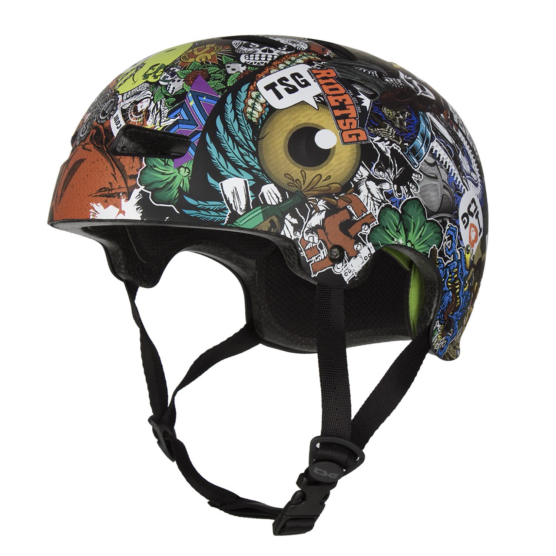 Design Helm tsg bmx dirt helmet evolution graphic design collage 2018 maciag
