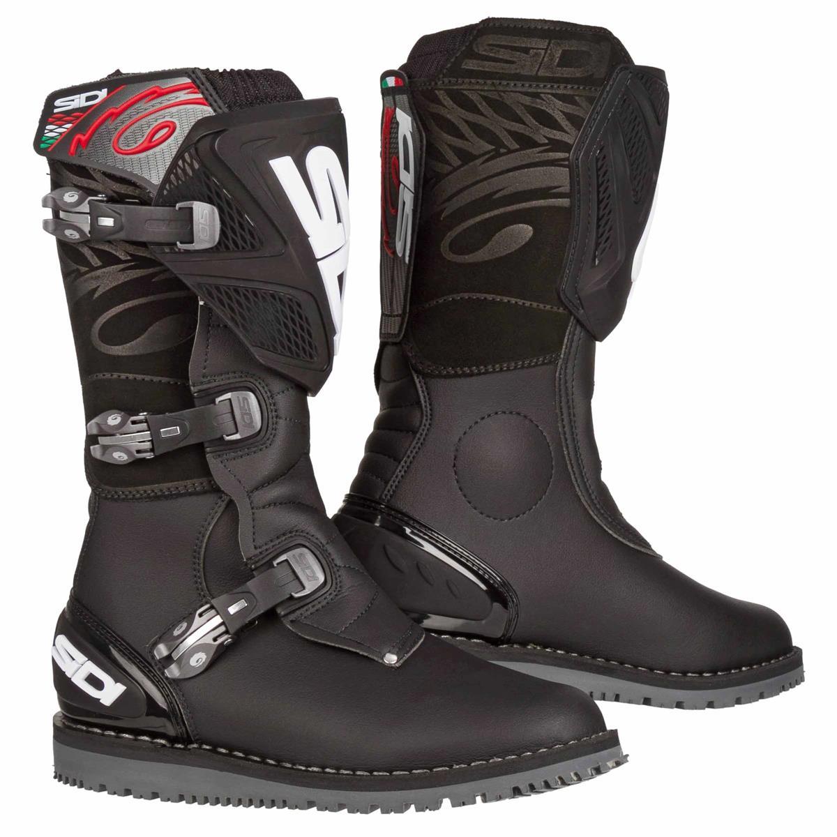 SIDI MX Stiefel Trial Zero 1 schwarz schwarz Motocross