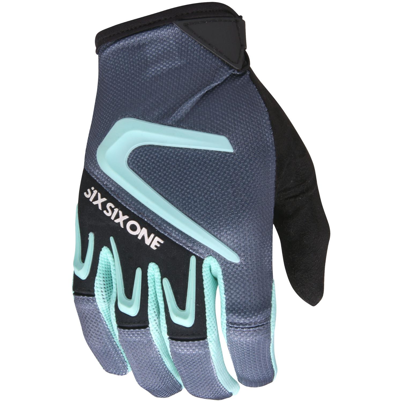 SixSixOne Bike-Handschuhe Rage Grau
