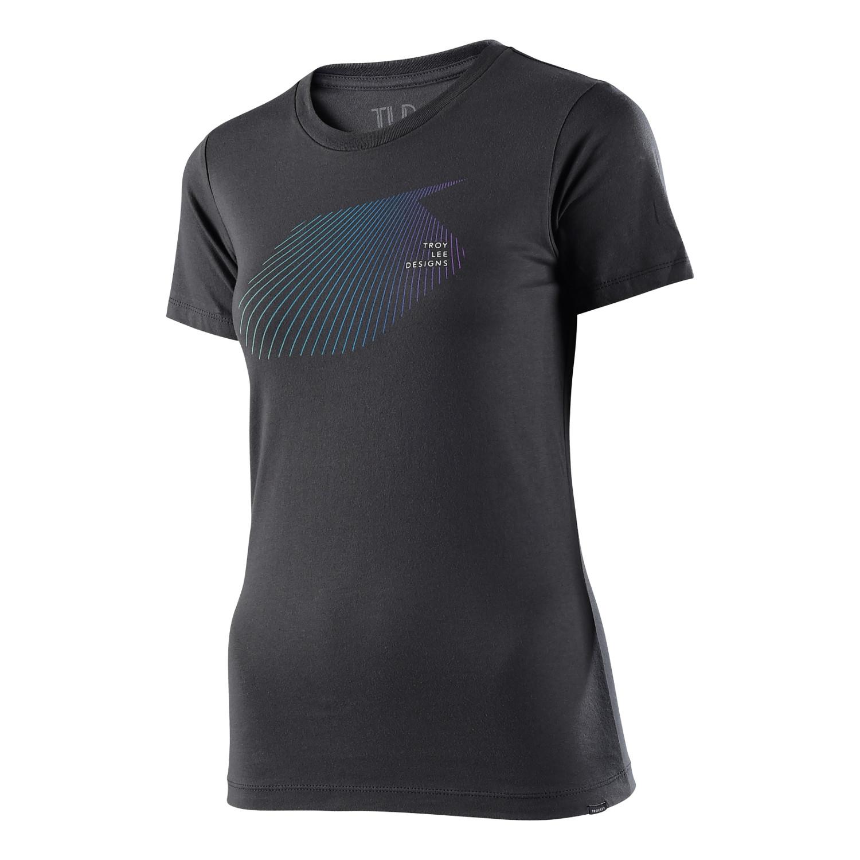 Fine Design T Shirts | Troy Lee Designs Girls T Shirt Fine Lines Heavy Metal Maciag Offroad