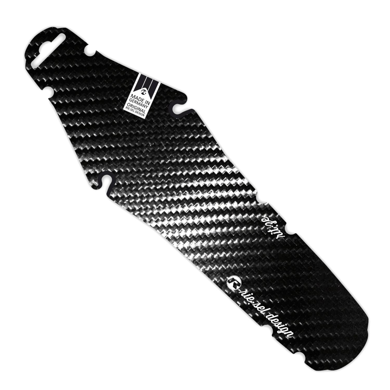 1 Stück Riesel Design Schutzblech hinten Ritze Carbon