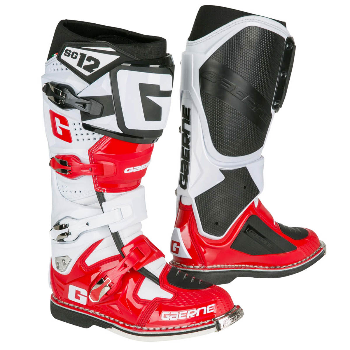 100 Red Motocross Boots Bo002 Recon E Ahl Off Road Mx