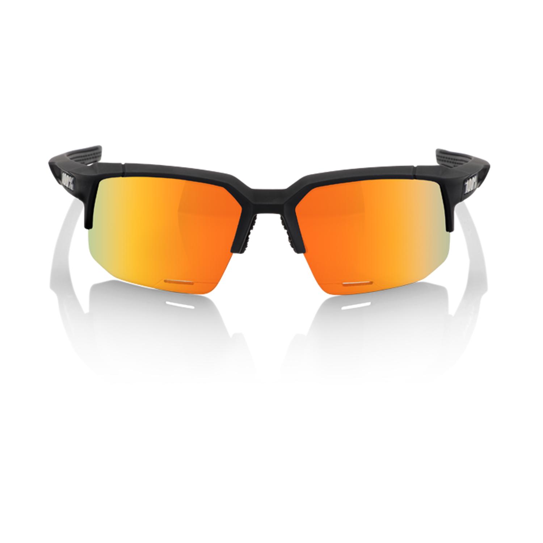 100% SpeedCoupe Sport Sunglasses - Smoke Lens - Sonnenbrillen - Performance Soft Tact Black Einheitsgröße 8wqH6i6l