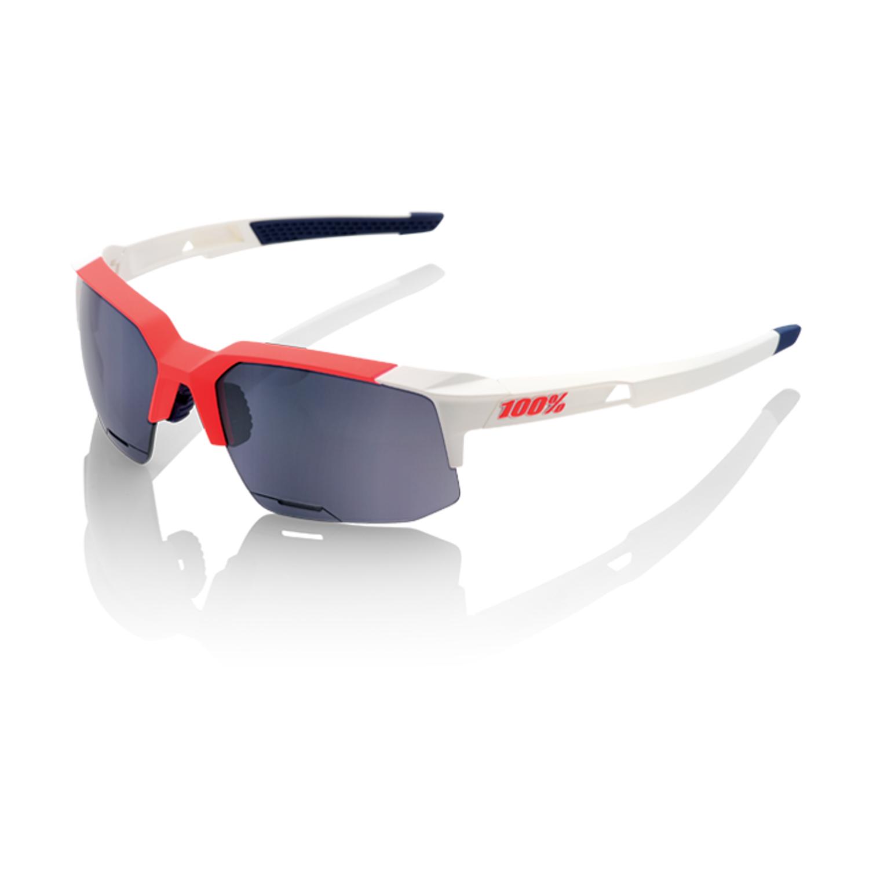 100% SpeedCoupe Sport Sunglasses - Smoke Lens - Sonnenbrillen - Performance Soft Tact Black Einheitsgröße OLjelKj