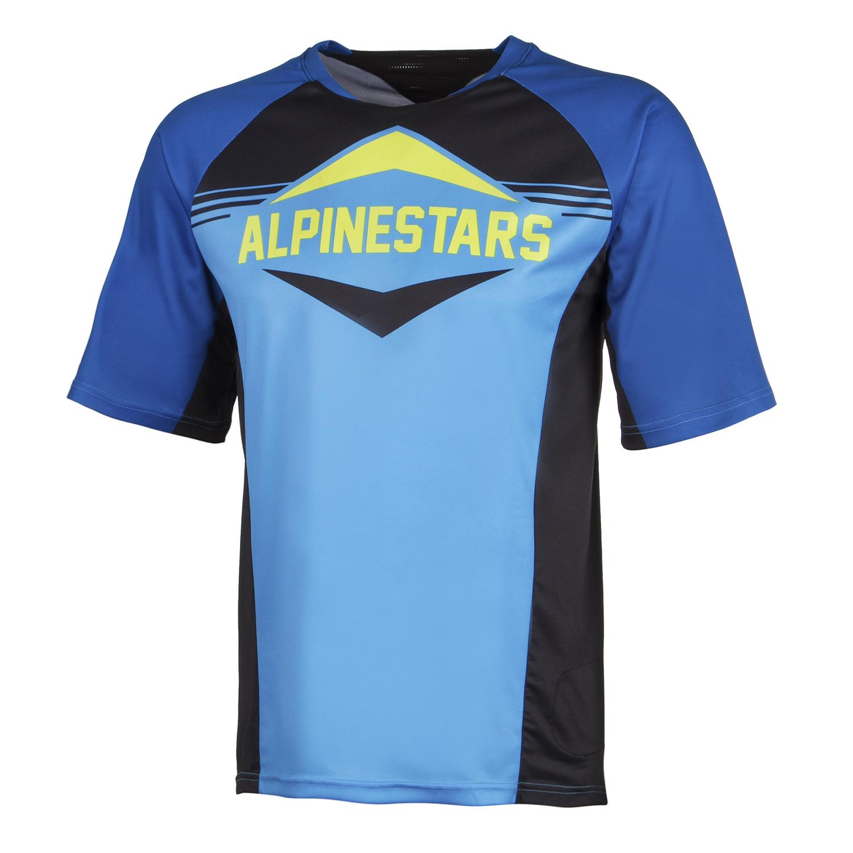 Alpinestars Kurzarm-Jersey Mesa Royal Royal Royal Blau/Bright Blau 16e106