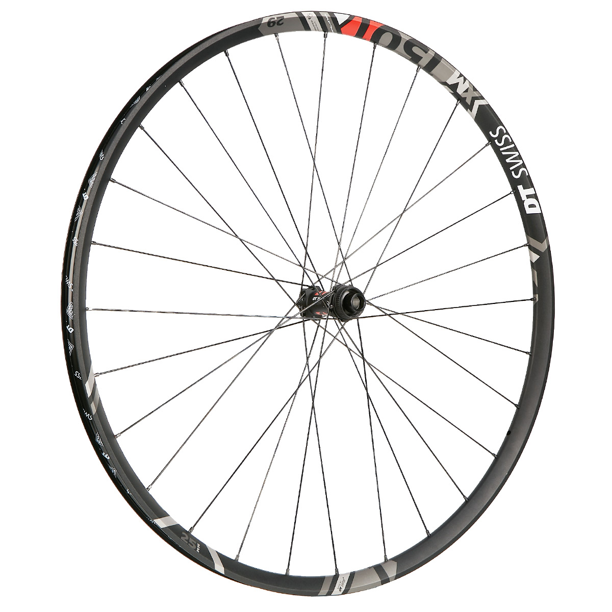 DT XR1501 SPLINE-1 28h Black 29er Mountain Bike Front Wheel 6b Disc Tubeless