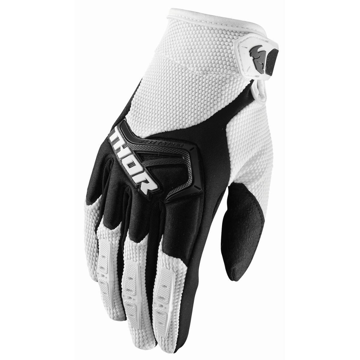 Thor Handschuhe Spectrum Weiß/Schwarz