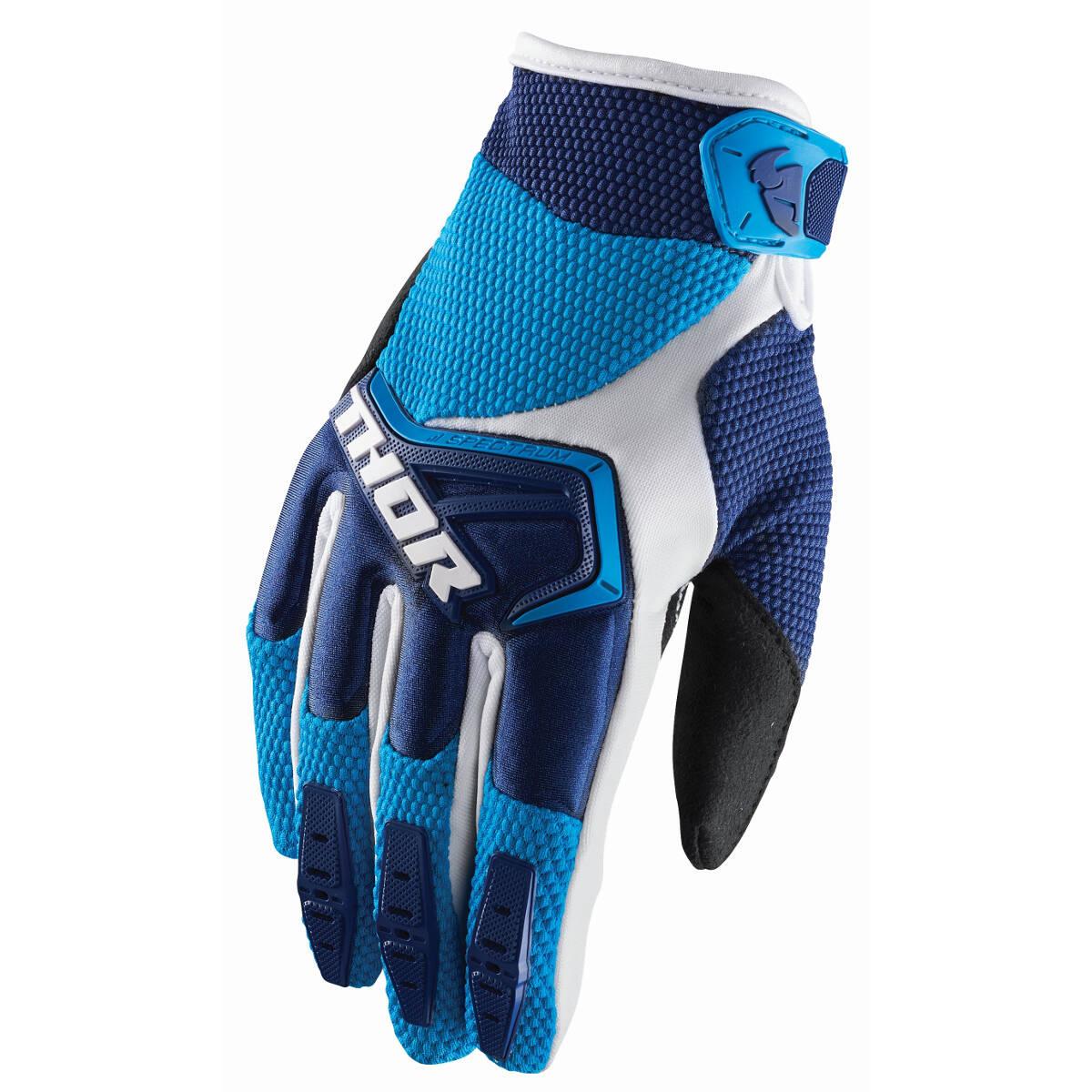 Thor Handschuhe Spectrum Navy/Blau/Weiß