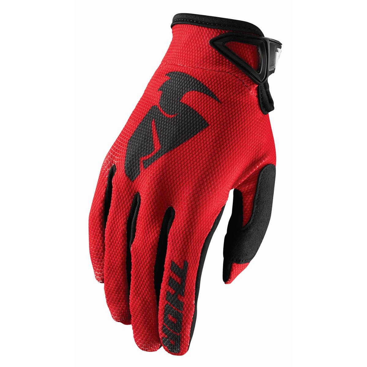 Thor Handschuhe Sector Rot