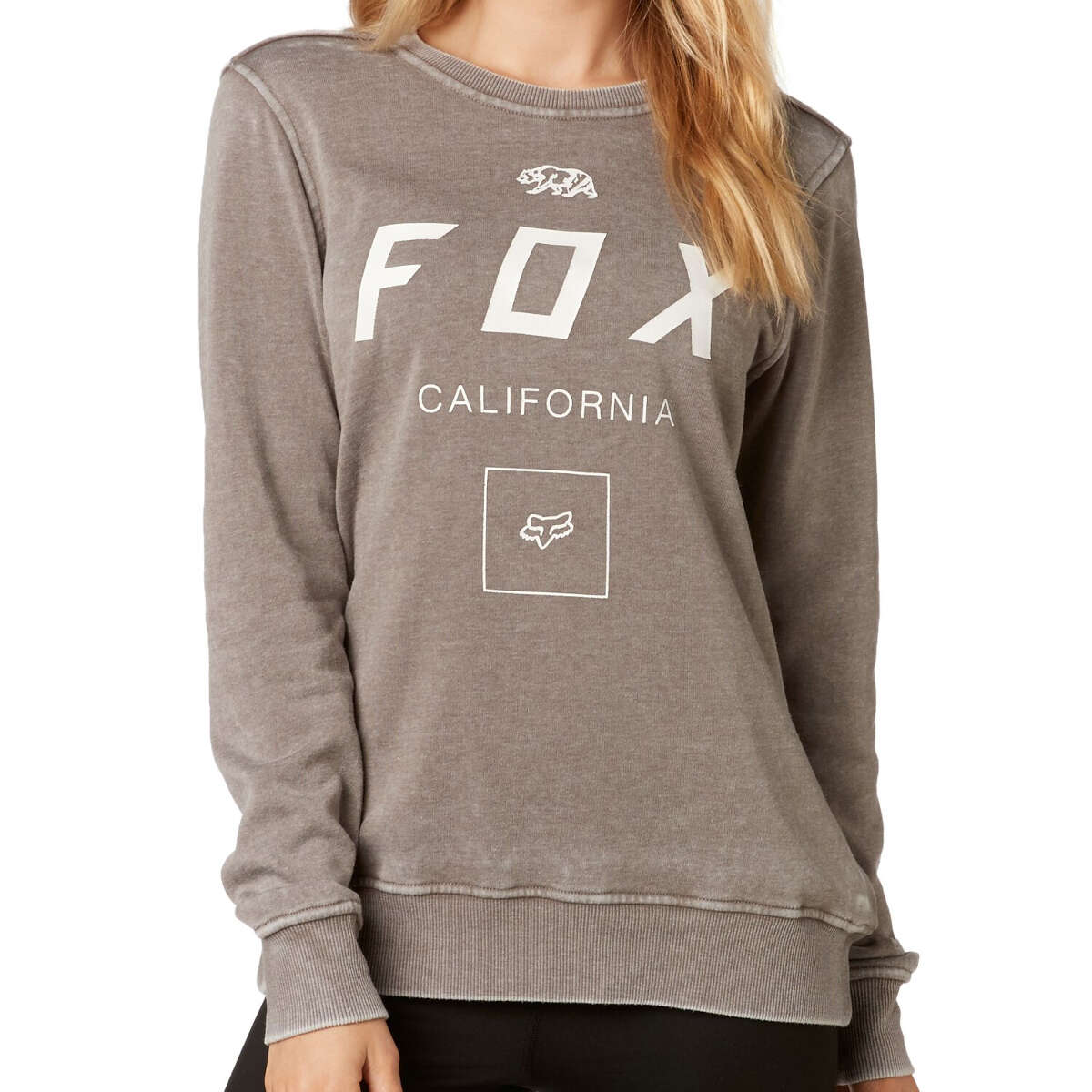 Fox Girls Fleece Pullover Growled Shadow | Maciag Offroad