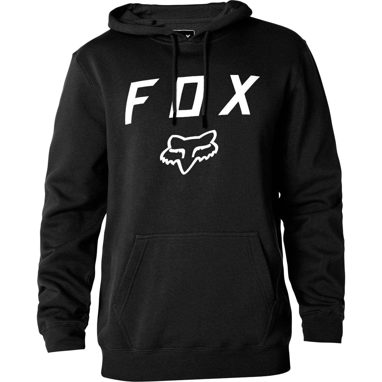 Fox Hoody Legacy Moth Schwarz