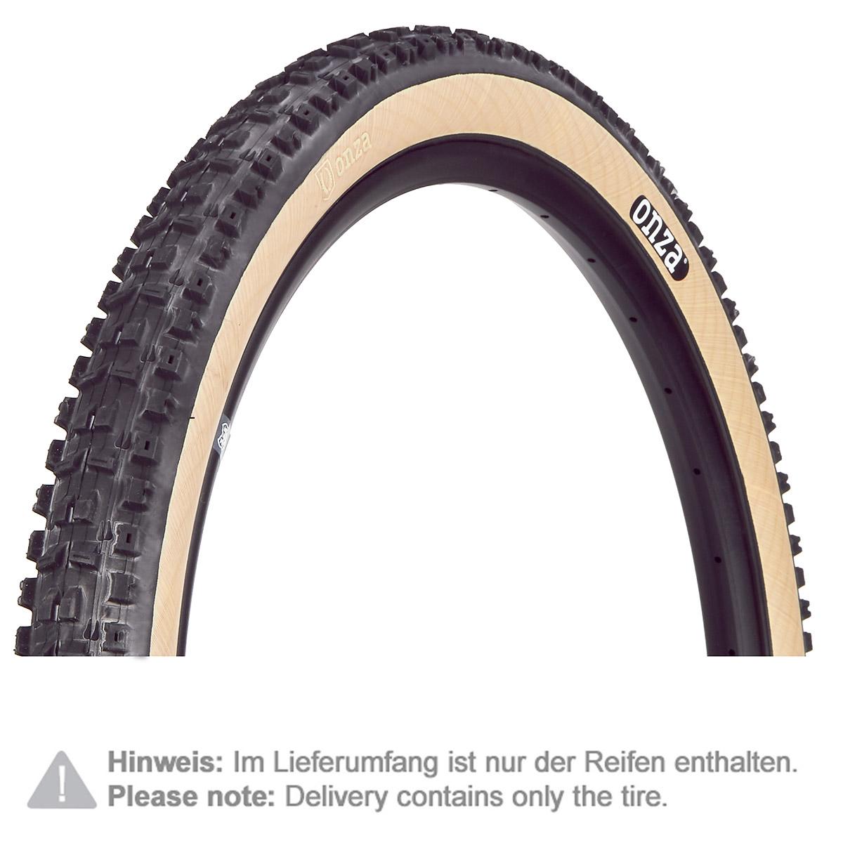 Onza MTB-Reifen Ibex, Einheitsgröße, Schwarz