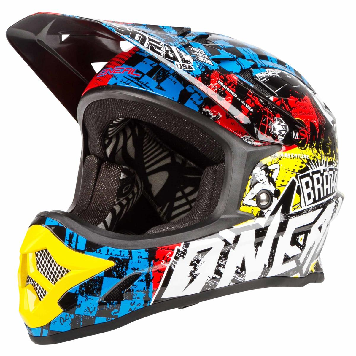 O O O 'neal Kids downhill-MTB casco backflip rl2 evo Wild-multi 0180ad