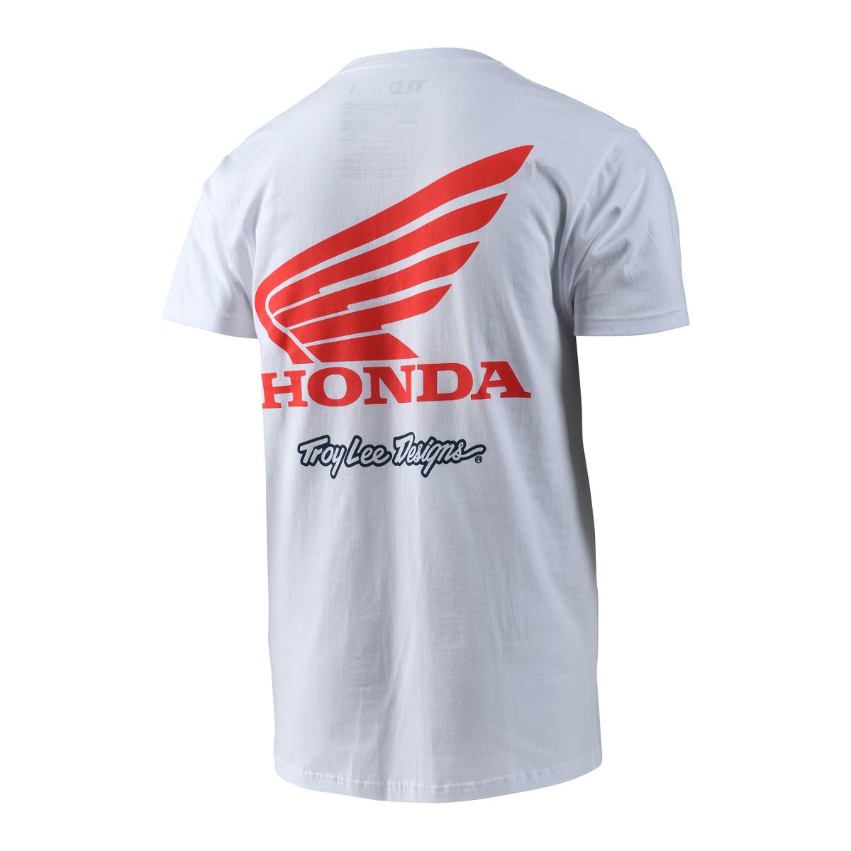 T-shirt Troy Lee Designs Honda casual da adulto