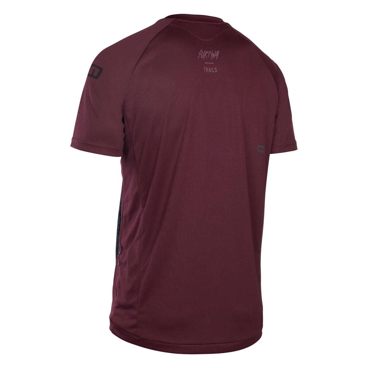 Ion Freeride-jersey a maniche corte Letters SCRUB amp vinaceous vinaceous vinaceous 86c9c7
