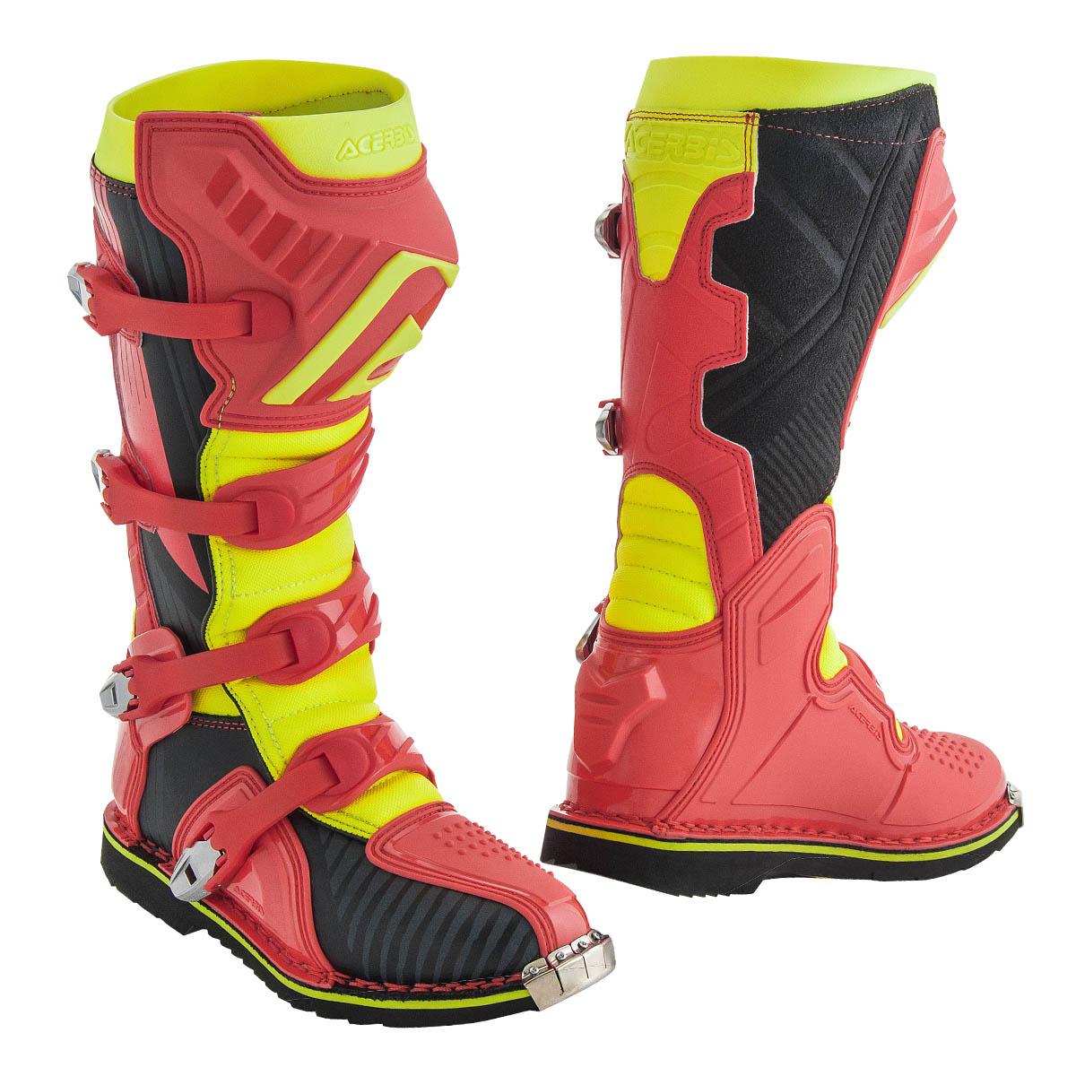 Acerbis Motocross Stiefel X Pro V. RotGelb | eBay