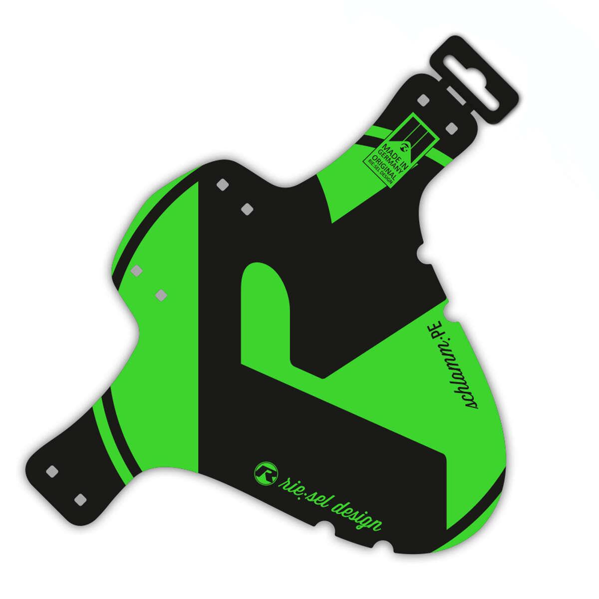 Riesel Design Schutzblech vorn SchlammPE Grün, 1 Stück