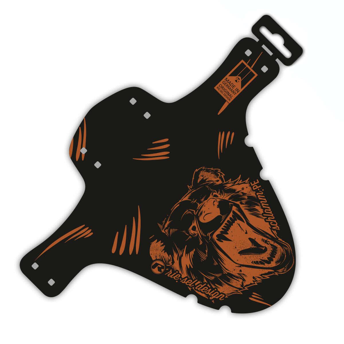 Riesel Design Schutzblech vorn SchlammPE Grizzly, 1 Stück
