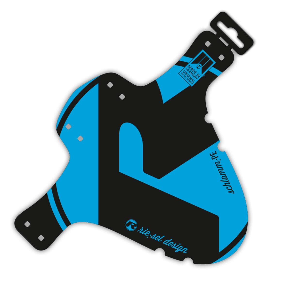 Riesel Design Schutzblech vorn SchlammPE Blau, 1 Stück