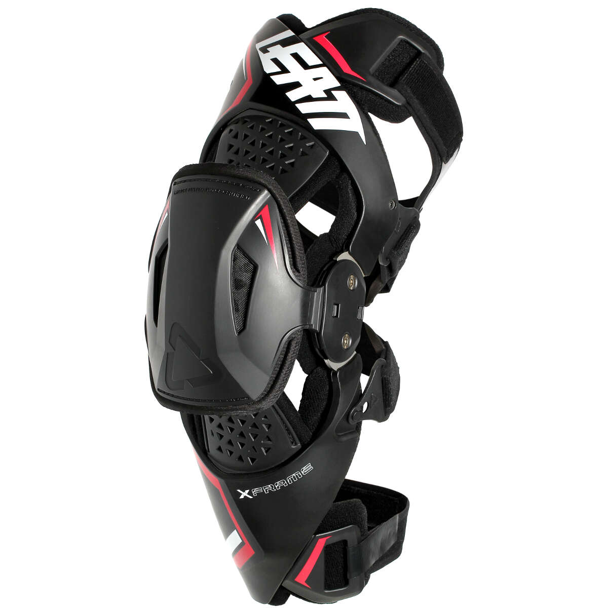 Mx Knee Braces >> Leatt Knee Braces X Frame Pair Black Red
