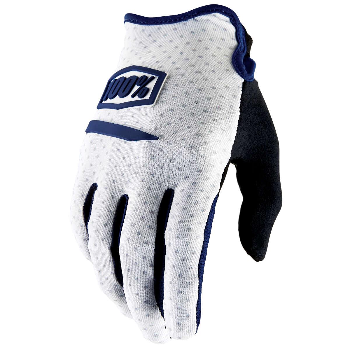 100% Bike Gloves Ridecamp White