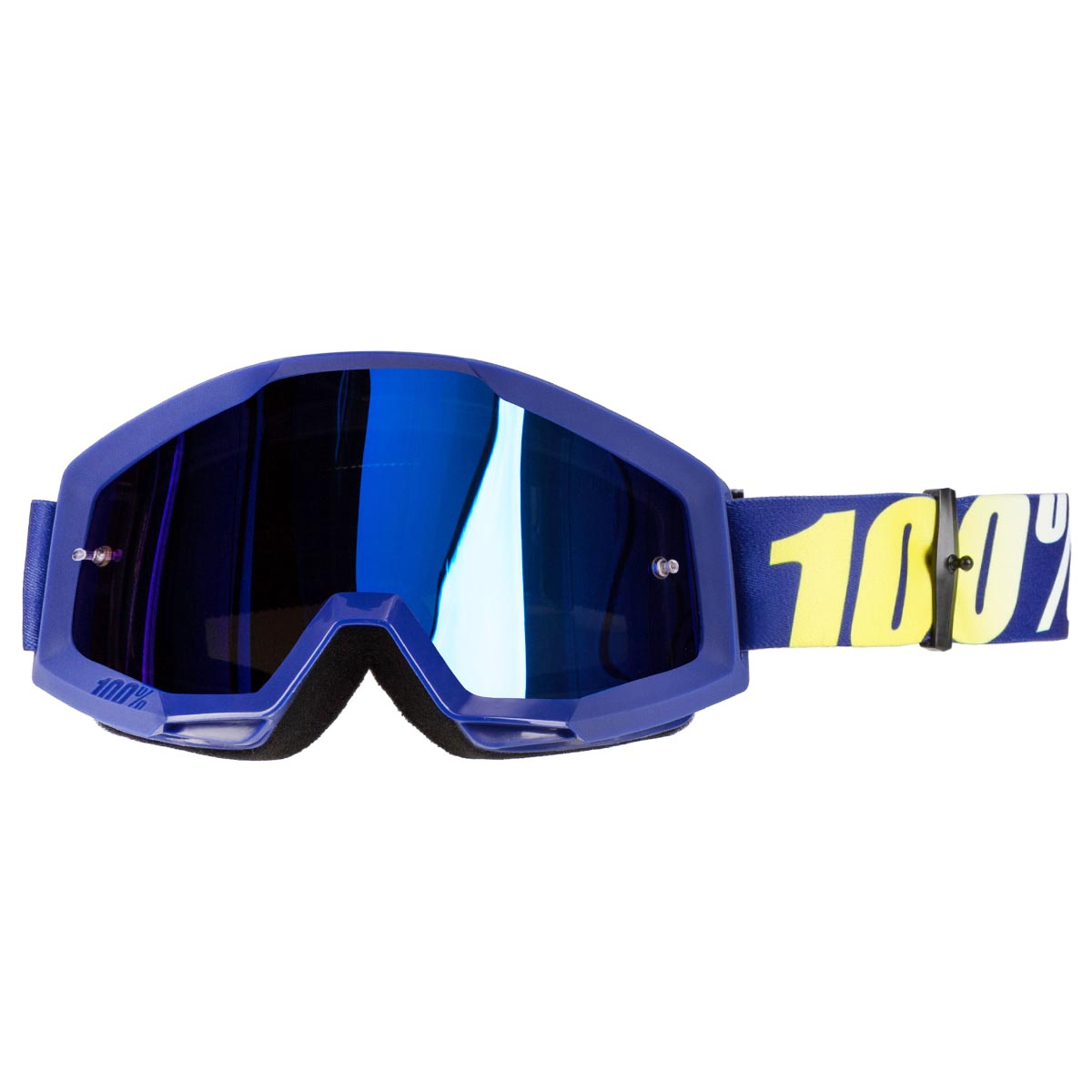 Offroad MX MTB Motocross 100/% STRATA Goggles ALL COLORS CLEAR OR MIRROR LENS