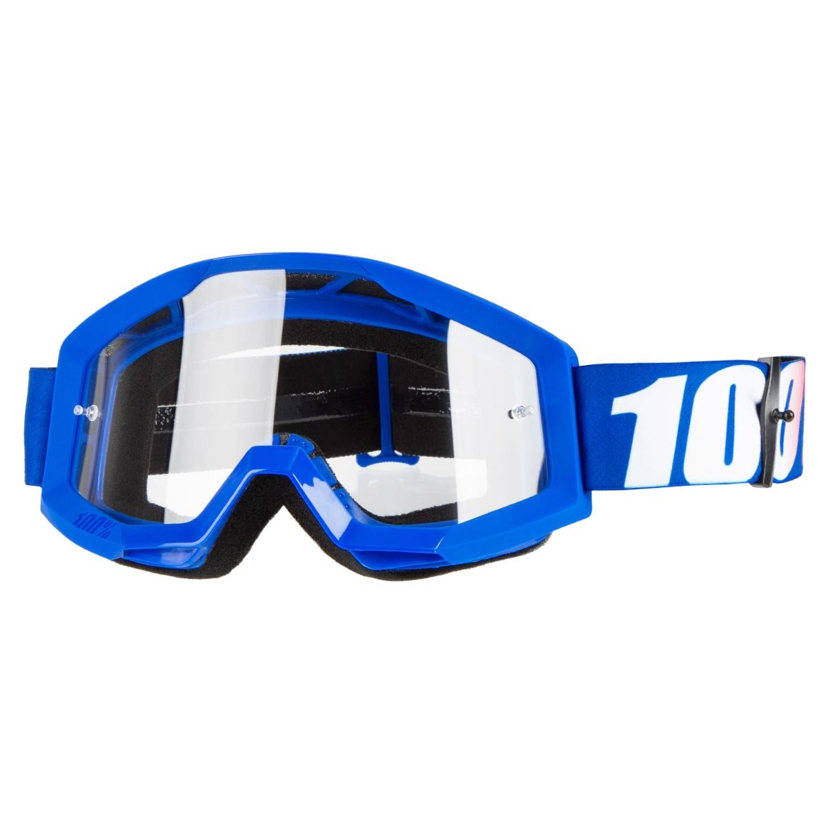 Offroad MX MTB Motocross 100/% STRATA Goggles CLEAR OR MIRROR LENS ALL COLORS