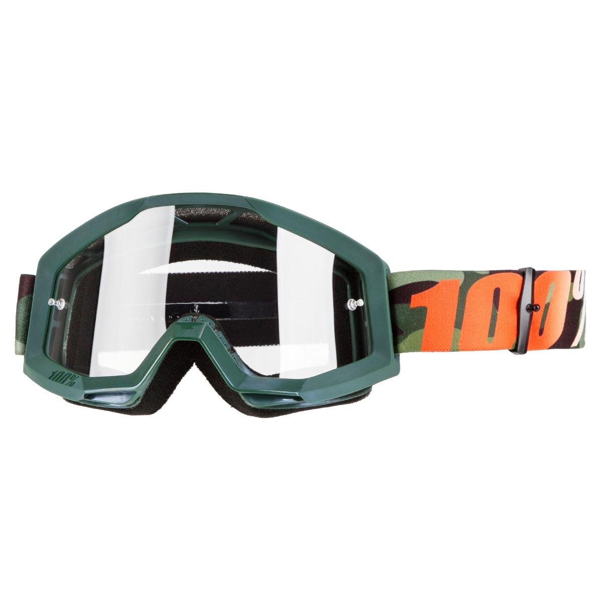 100% Crossbrille The Strata Huntsitan - Klar Anti-Fog