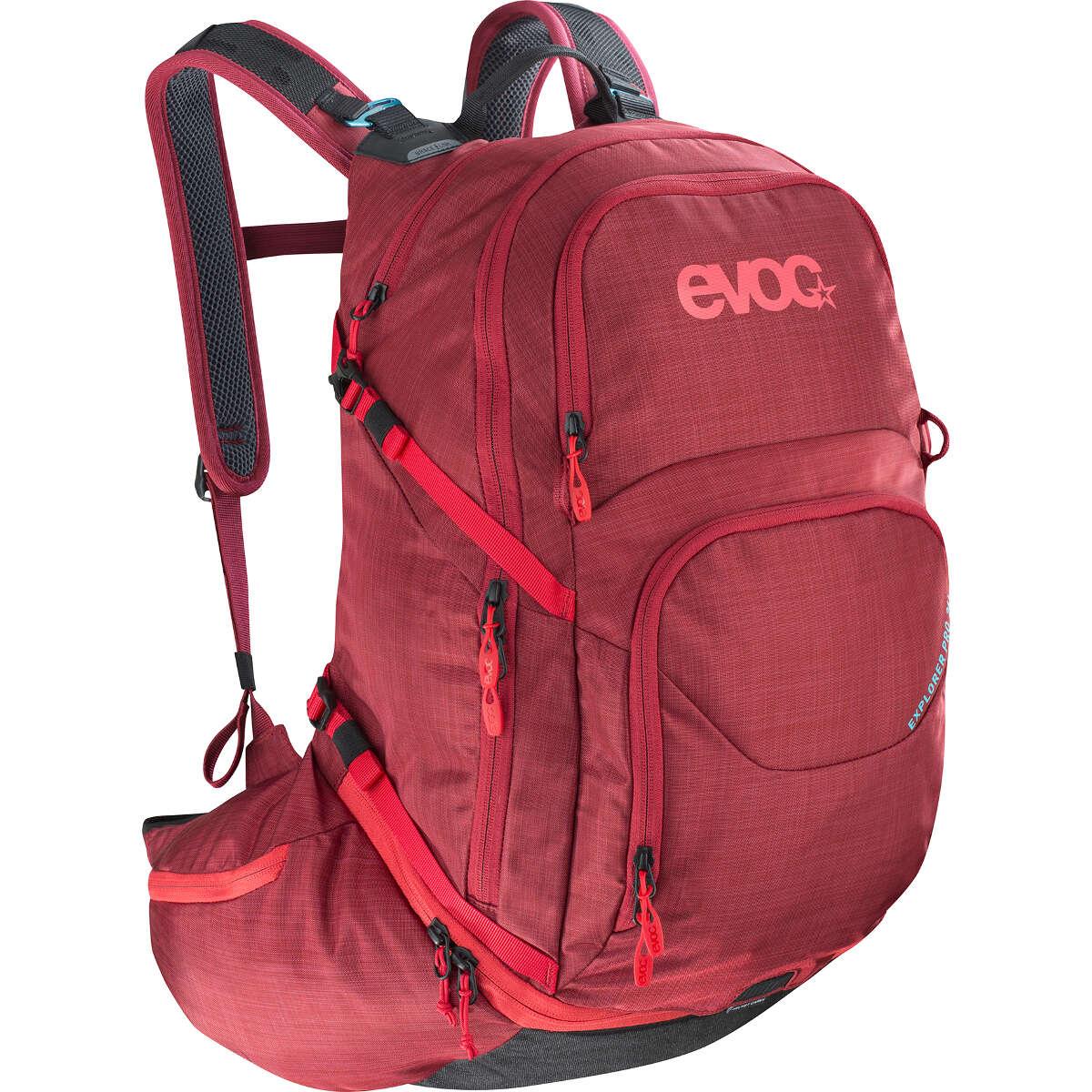 Evoc Rucksack mit Trinksystemvorrichtung Explorer Pro Heather Rubin, 26 Liter