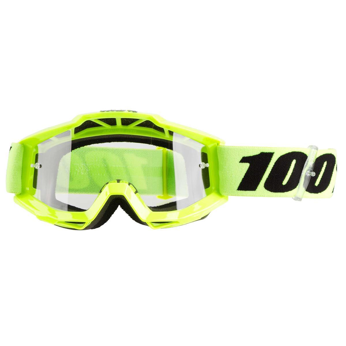 Offroad MX Motocross 100/% ACCURI OTG Goggles OVER THE GLASSES GUNMETAL