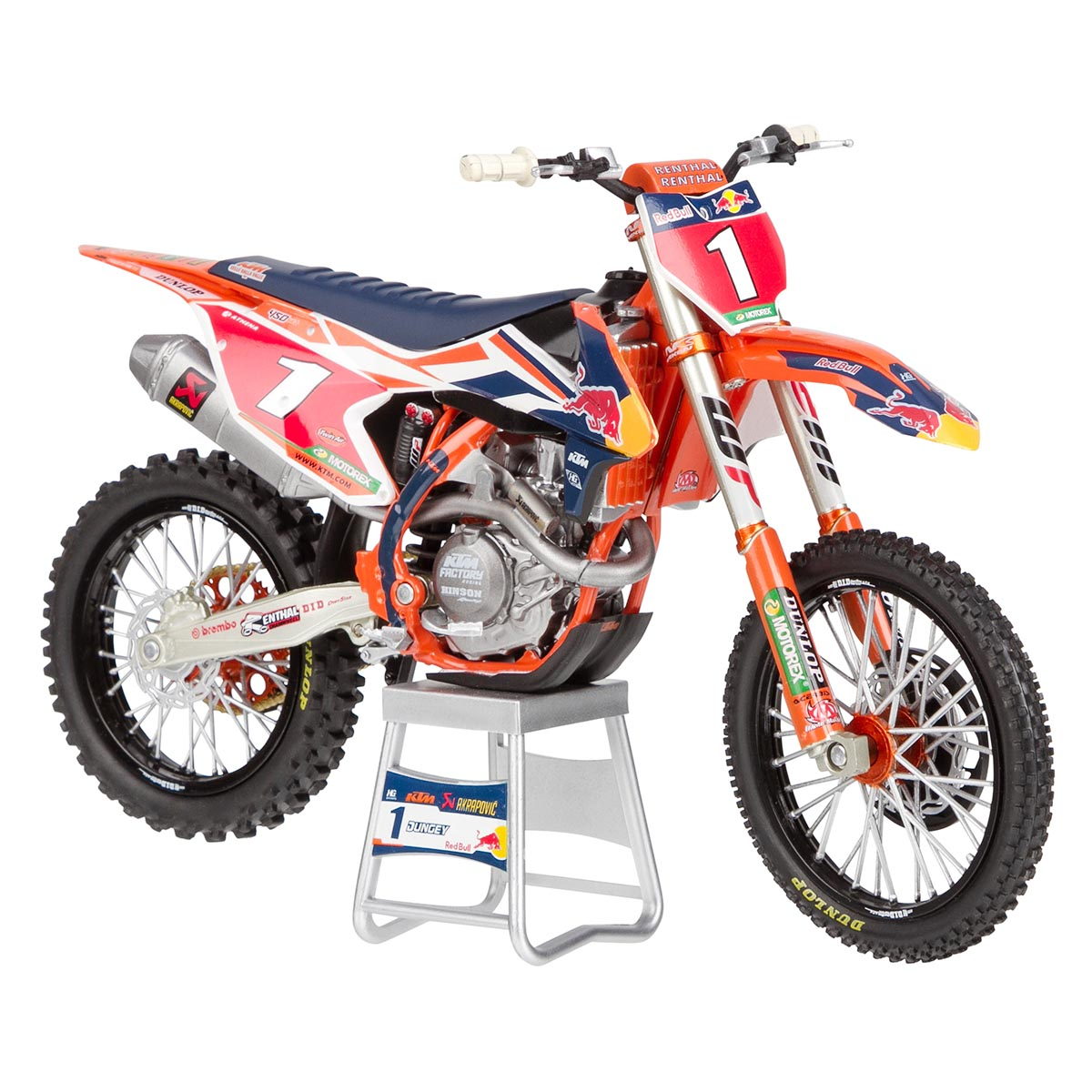 Miniatuur Motorradmodell KTM Ryan Dungey (No 5) 1:12