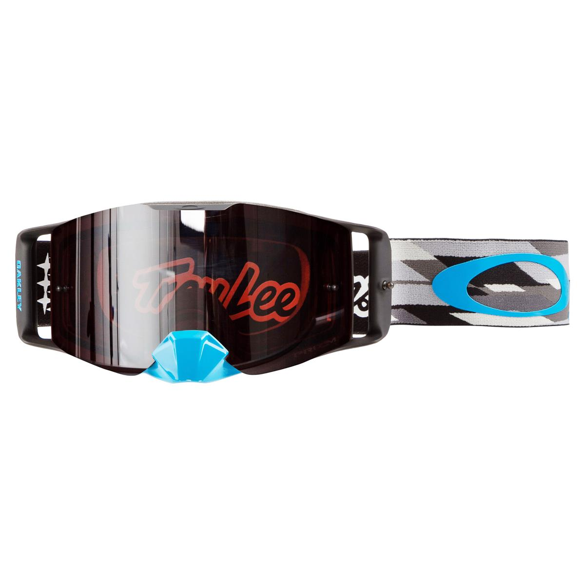 Oakley Crossbrille Front Line MX Troy Lee Designs Demo Stealth - Prizm MX Black Anti-Fog