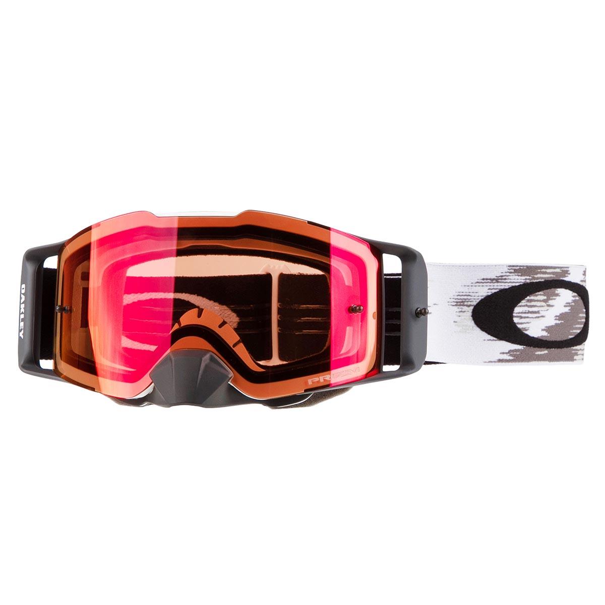 Oakley Crossbrille Front Line MX White Speed Matt - Prizm MX Torch
