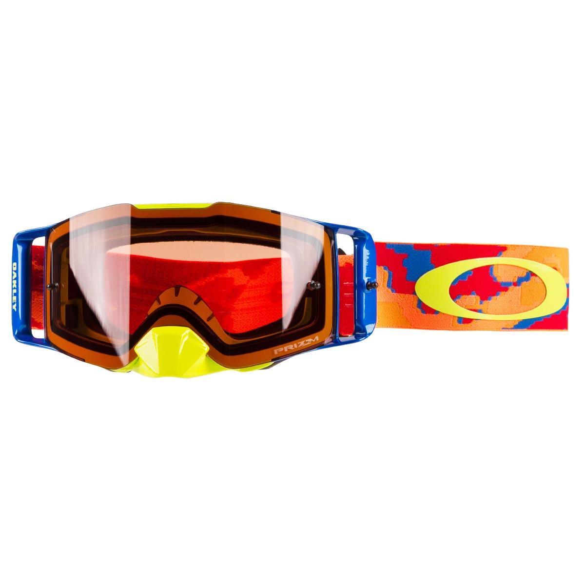 621d714c024 Oakley MX Goggle Front Line MX Thermo Camo Orange Red - Prizm MX ...