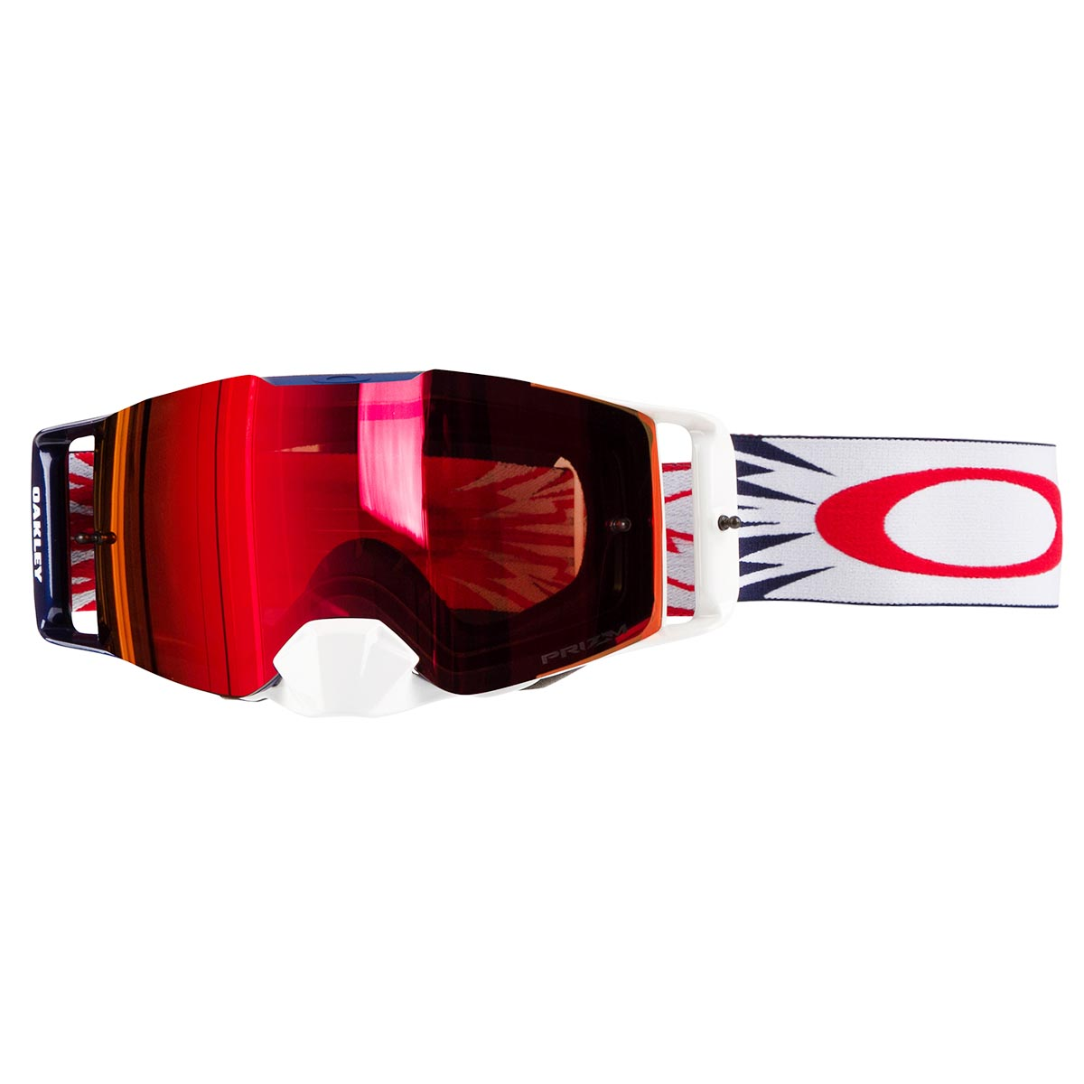 a5bd13443243 Oakley MX Goggle Front Line MX High Voltage Red Navy - Prizm MX ...