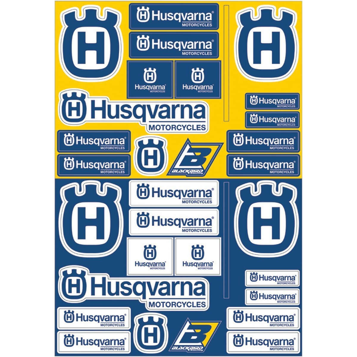 Husqvarna aufkleber