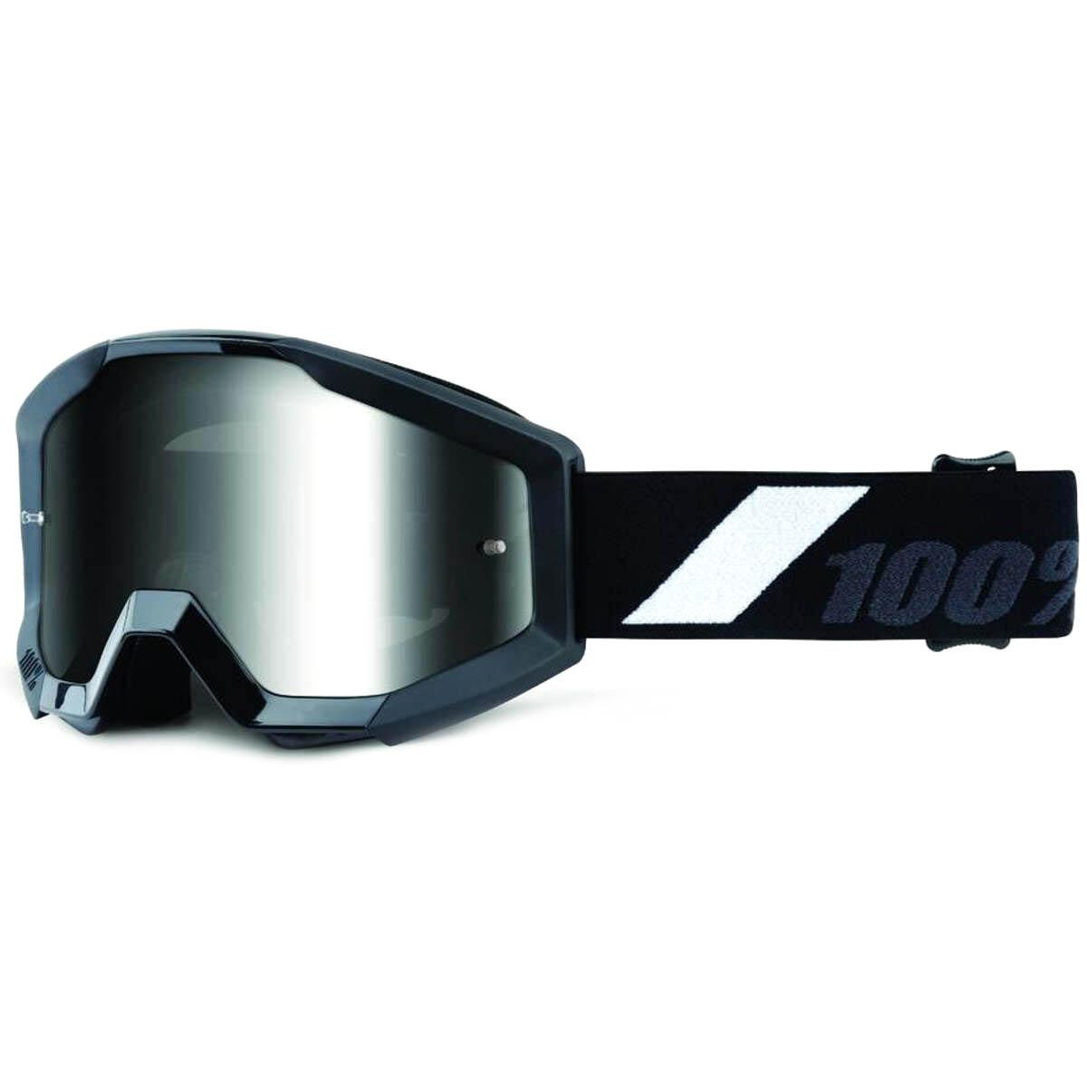 GOLIATH w// Anti-Fog Mirror Silver Lens 100/% MX Motocross STRATA Goggles