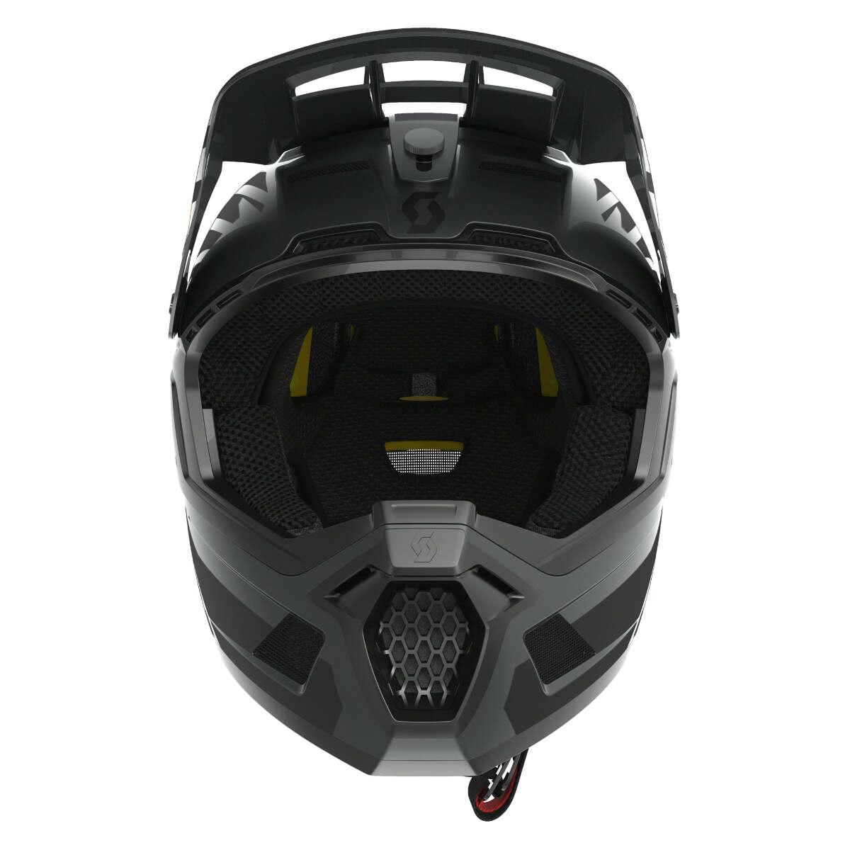Scott Downhill-MTB Helm Helm Helm schwarz Plus Schwarz 97905d