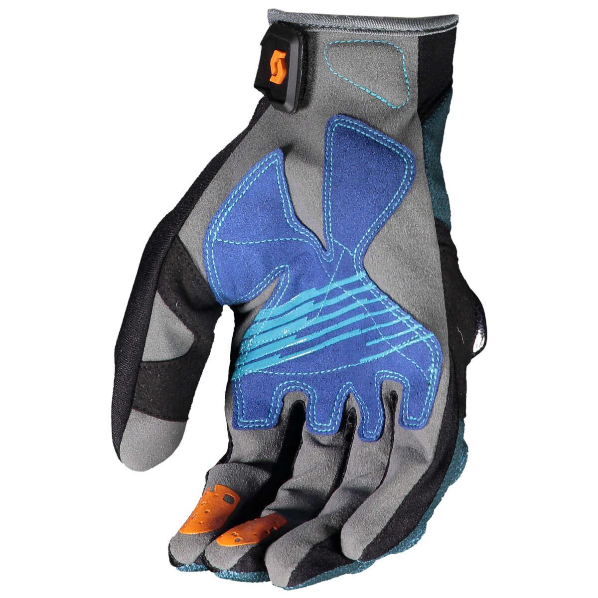 Scott Handschuhe Handschuhe Scott DH Pro Nightfall Blau/Mandarin Orange 16a5bc