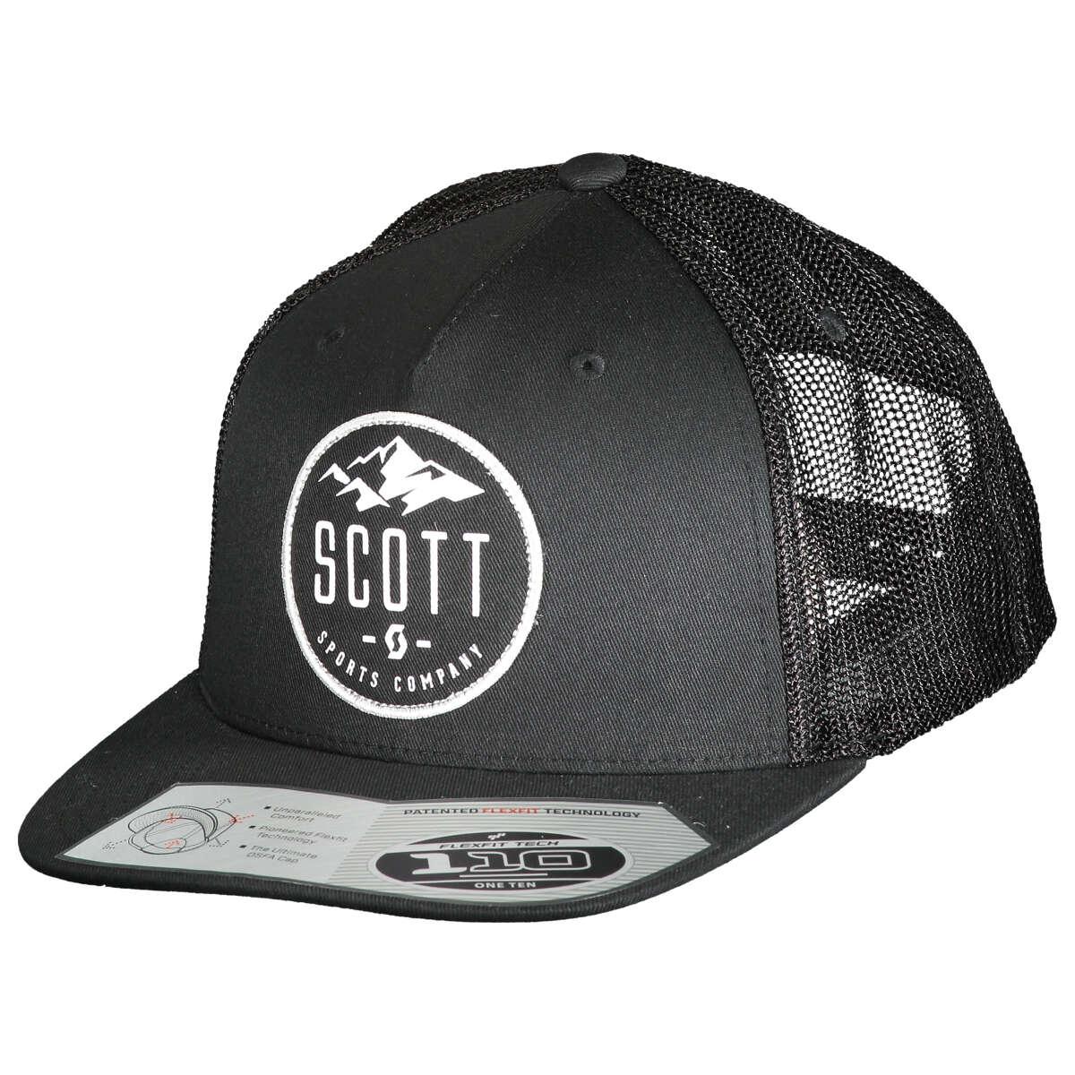 różne style nowy autentyczny wylot online Scott Flexfit Cap Mountain Black
