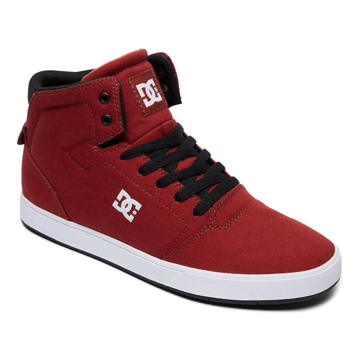 DC ShoesCRISIS - Skate shoes - black/red/white b4d0B5