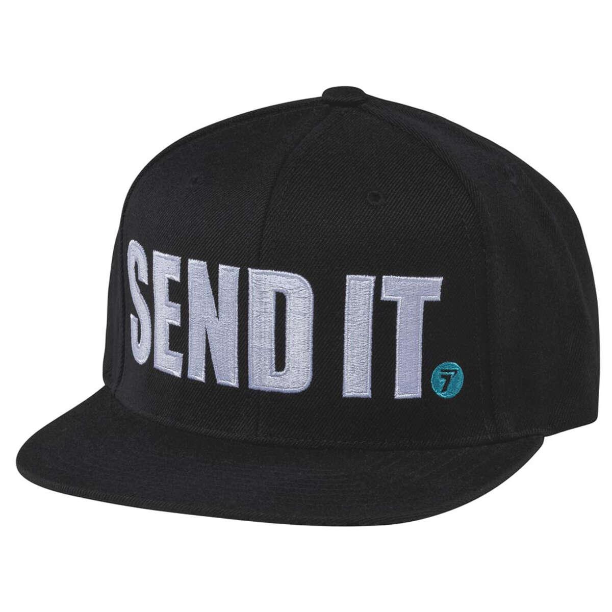 Seven MX Snapback Cap Send It Schwarz | Maciag Offroad
