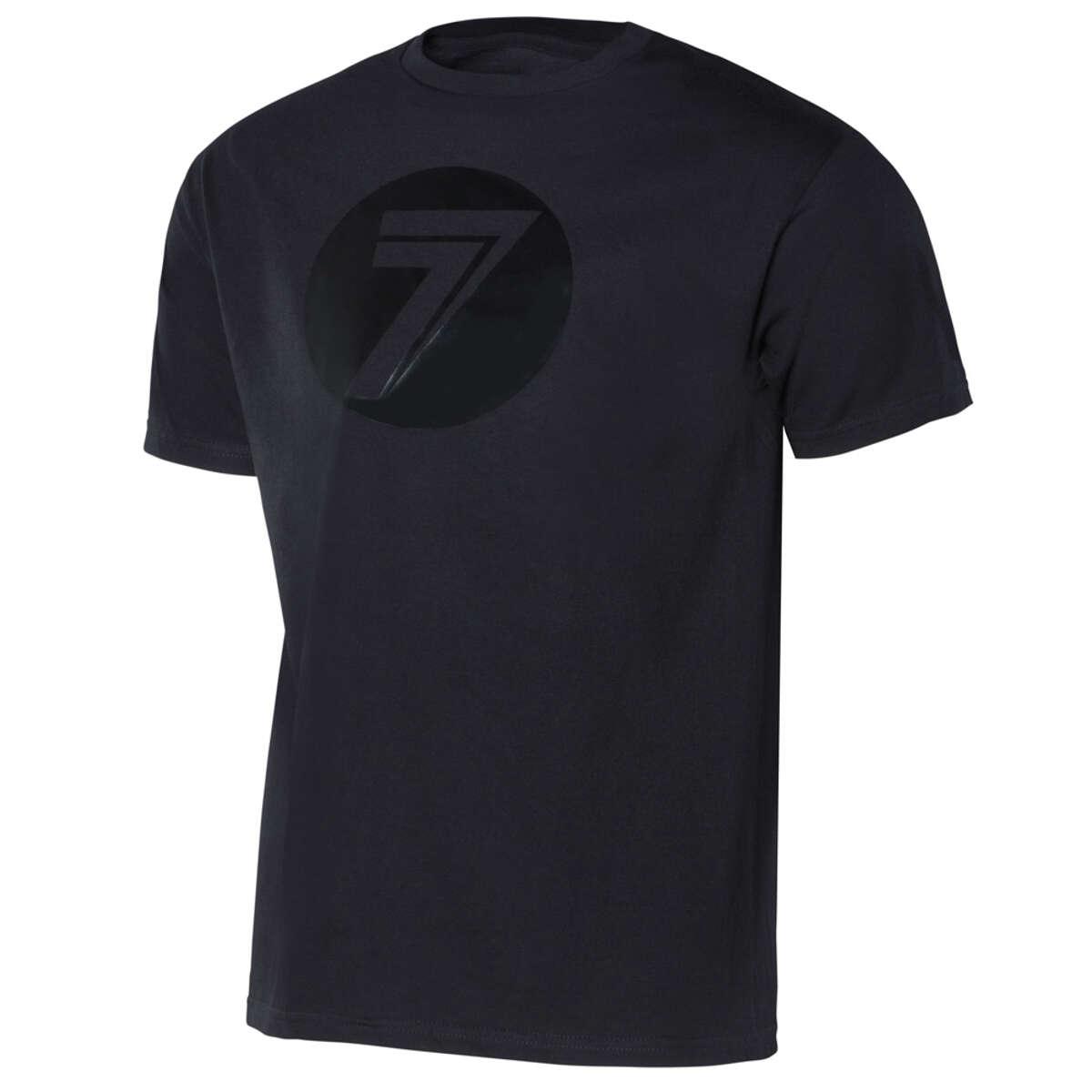 Seven MX T-Shirt Dot Black/Black