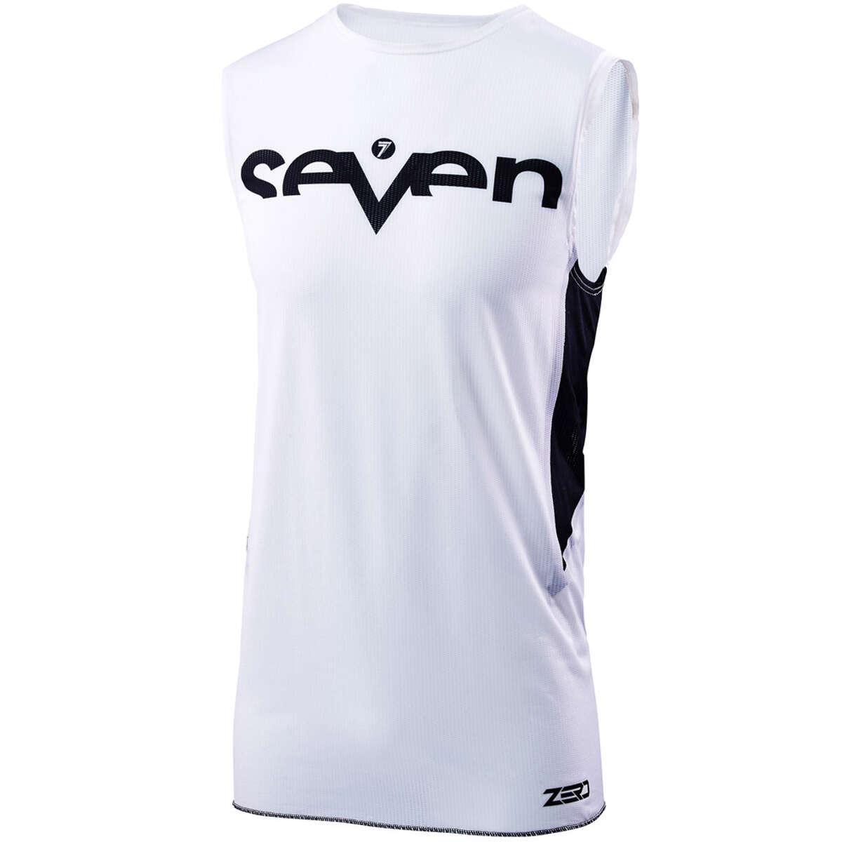 Seven MX Funktionsshirt Zero Staple Over Weiß