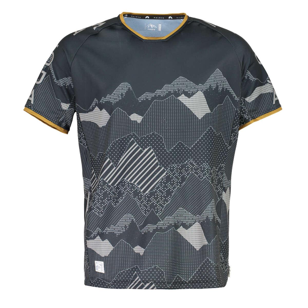 Maloja Tech Shirt FlurinM. FlurinM. FlurinM. Moonless 463e6f