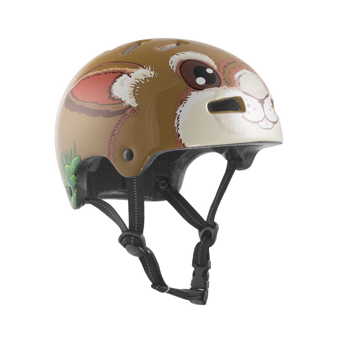 TSG Kids BMX/Dirt Helm Nipper Mini Graphic Design - Bunny